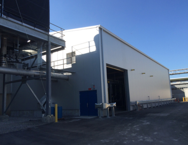 Ford Livonia Transmission: South Chiller Building - Project Highlights - Stenco Construction - fordford2