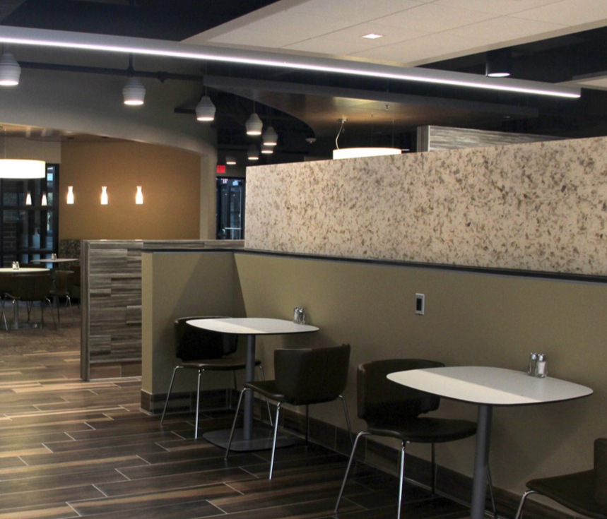 Johnson Controls, Inc.: Cafeteria Renovation - Commercial Project Highlights from Stenco Construction  - johnsoncontrols3