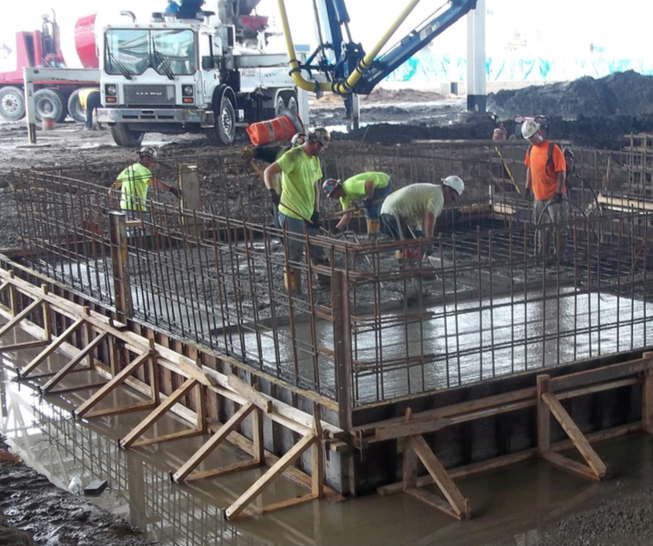 FCA SHAP Body Shop: Concrete Foundations, Pits, Grade Beam - Project Highlights - Stenco Construction - photo