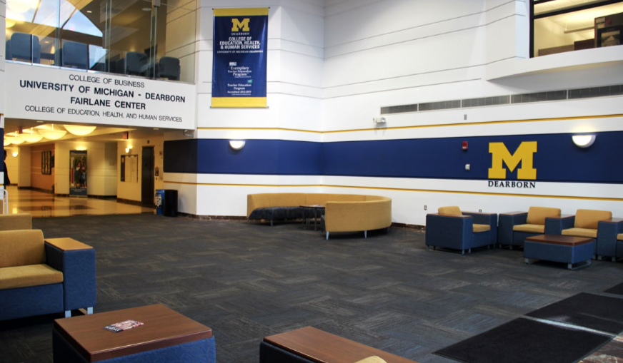 University of Michigan - Dearborn: Renovations - Stenco Construction Project Highlights For Education - um1